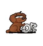 愛しのトイプードル かわいい犬スタンプ(個別スタンプ:03)