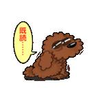 愛しのトイプードル かわいい犬スタンプ(個別スタンプ:12)
