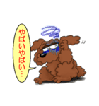 愛しのトイプードル かわいい犬スタンプ(個別スタンプ:24)