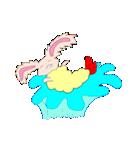 うさぎの天ぷら(個別スタンプ:03)