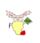うさぎの天ぷら(個別スタンプ:22)