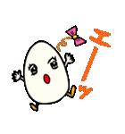 女子たまごちゃん(個別スタンプ:04)
