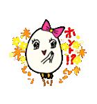 女子たまごちゃん(個別スタンプ:05)