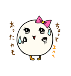 女子たまごちゃん(個別スタンプ:09)