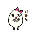女子たまごちゃん(個別スタンプ:10)