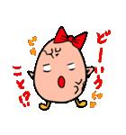 女子たまごちゃん(個別スタンプ:18)
