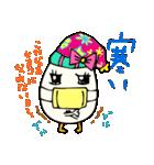 女子たまごちゃん(個別スタンプ:35)