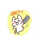 ライブの好きなこねこちゃん(個別スタンプ:01)
