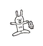 ウサギのウーのあぱぱスタンプ(個別スタンプ:37)