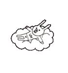 ウサギのウーのあぱぱスタンプ(個別スタンプ:38)
