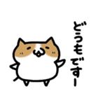 ゆるいネコ(個別スタンプ:01)