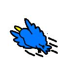 くちばしの黄色い青い鳥 <Part.2>(個別スタンプ:07)