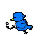 くちばしの黄色い青い鳥 <Part.2>(個別スタンプ:09)