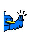 くちばしの黄色い青い鳥 <Part.2>(個別スタンプ:12)