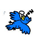 くちばしの黄色い青い鳥 <Part.2>(個別スタンプ:13)