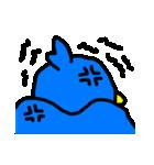 くちばしの黄色い青い鳥 <Part.2>(個別スタンプ:18)
