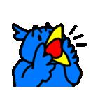 くちばしの黄色い青い鳥 <Part.2>(個別スタンプ:23)