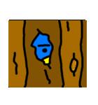 くちばしの黄色い青い鳥 <Part.2>(個別スタンプ:24)