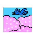くちばしの黄色い青い鳥 <Part.2>(個別スタンプ:29)