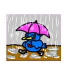 くちばしの黄色い青い鳥 <Part.2>(個別スタンプ:31)