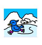 くちばしの黄色い青い鳥 <Part.2>(個別スタンプ:39)