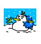 くちばしの黄色い青い鳥 <Part.2>(個別スタンプ:40)