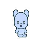 nervous bear ~no.1~(個別スタンプ:01)