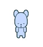 nervous bear ~no.1~(個別スタンプ:12)