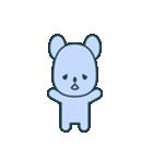 nervous bear ~no.1~(個別スタンプ:17)