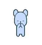 nervous bear ~no.1~(個別スタンプ:18)