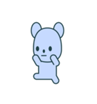 nervous bear ~no.1~(個別スタンプ:20)