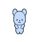 nervous bear ~no.1~(個別スタンプ:23)
