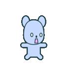 nervous bear ~no.1~(個別スタンプ:24)