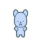 nervous bear ~no.1~(個別スタンプ:26)