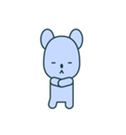 nervous bear ~no.1~(個別スタンプ:33)