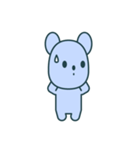 nervous bear ~no.1~(個別スタンプ:34)