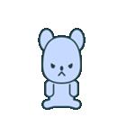 nervous bear ~no.1~(個別スタンプ:35)