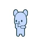 nervous bear ~no.1~(個別スタンプ:37)