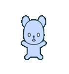 nervous bear ~no.1~(個別スタンプ:40)