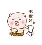 試合応援&速報ブタおやじスタンプ(個別スタンプ:29)