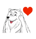 Pocket K-9: 雪の犬(個別スタンプ:11)