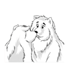 Pocket K-9: 雪の犬(個別スタンプ:23)