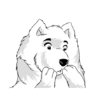 Pocket K-9: 雪の犬(個別スタンプ:24)