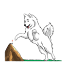 Pocket K-9: 雪の犬(個別スタンプ:38)