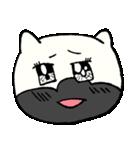 ブサ猫シリーズ ロマとマロ 顔芸ギャグ編(個別スタンプ:06)