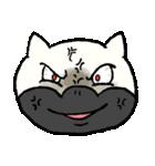 ブサ猫シリーズ ロマとマロ 顔芸ギャグ編(個別スタンプ:15)