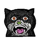 ブサ猫シリーズ ロマとマロ 顔芸ギャグ編(個別スタンプ:28)