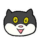 ブサ猫シリーズ ロマとマロ 顔芸ギャグ編(個別スタンプ:34)