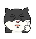 ブサ猫シリーズ ロマとマロ 顔芸ギャグ編(個別スタンプ:40)