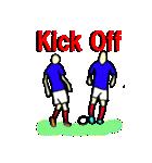 サッカー選手スタンプ(個別スタンプ:1)